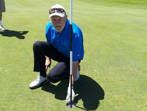 Wayne Mills hole in one winner